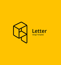 Letter q or number 9 construction logo icon vector