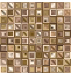 Pattern Mosaic Bricks vector