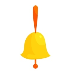 Ringing bell icon cartoon style vector image