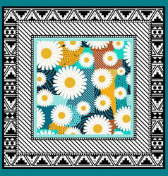 Scarf abstract background vector