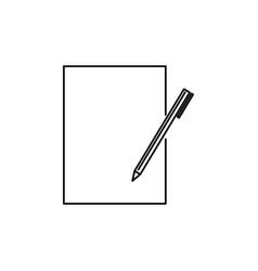 edit icon vector image vector image