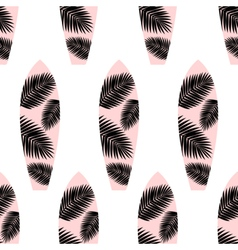 Surf boards seamless pattern vector