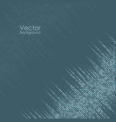 Abstract background with blue and gray dots vector
