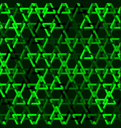 abstract triangular mesh seamless pattern vector image