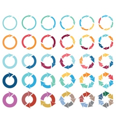 Arrow pictograph refresh reload rotation loop sign vector