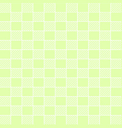 Bright green striped background vector