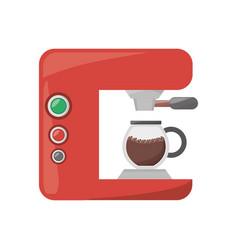 Coffee espresso machine vector