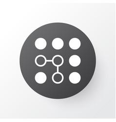 Computational complexity icon symbol premium vector