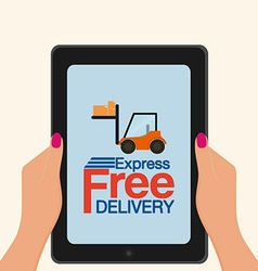 Delivery object vector