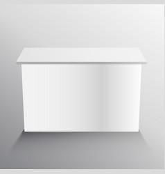 Display table mockup design vector