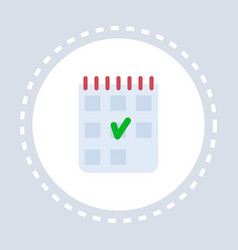 medical history check list notepad icon healthcare vector image