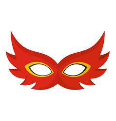 nice mask icon flat style vector image