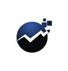 Online marketing app software vector