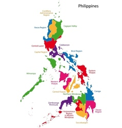 Republic of the Philippines vector image vector image