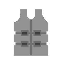 Bullet Proof Vest vector image