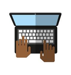 Computer icon image vector