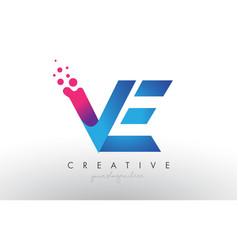 Design with creative dots bubble vector