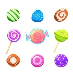 Different Candy Set vector image