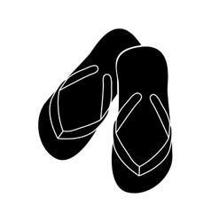 Flip flops icon image vector