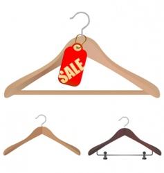 Hanger shopping concept vector