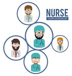 Nurse design vector image