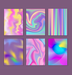 Universal holographic blur texture abstract vector