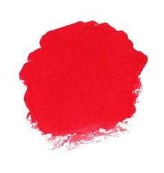 Red watercolor spot vector image vector image