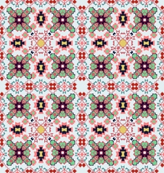 Seamless colorful ethnic pattern vector