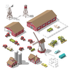 A set of 3d isometric elements for the vector