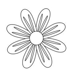 Beautiful sunflower gardening vector