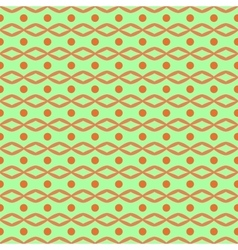 Circle and rhombus seamless pattern vector image