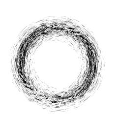 Grunge Ink Background Textured Black Splatters vector image