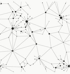 Minimal grid seamless pattern vector