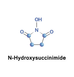 N hydroxysuccinimide organic compound vector