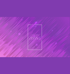 Purple abstract dynamic background with diagonal vector