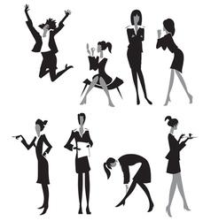 Women in office vector