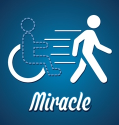 Miracle vector image vector image