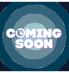 Comming soon vector image