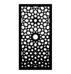 Laser cut panel screen fence divider vector