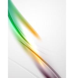 Modern curve stripes template vector