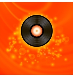 Retro Vinyl Disc vector