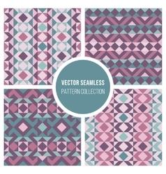 Seamless truchet geometric pattern vector