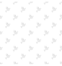 white pigeon of peace icon flat style vector image