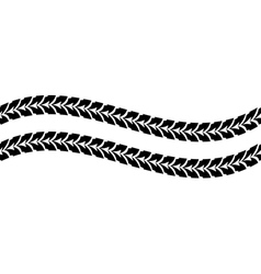 seamless track car vector image