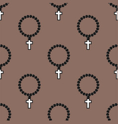 seamless cross pattern abstract background vector image vector image