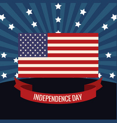 independence day flag usa image vector image vector image
