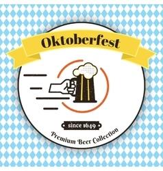 Oktoberfest poster vector image