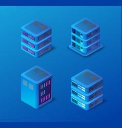 3d server set network vector