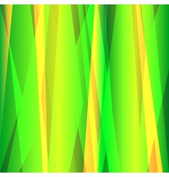 Abstract lines green background vector image