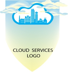 CLOUD SERVICES BANNER A4 SIZE vector